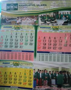 Kalender PCNU Bekasi